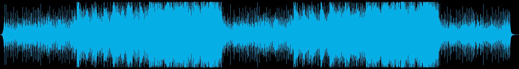 おしゃれ11の再生済みの波形