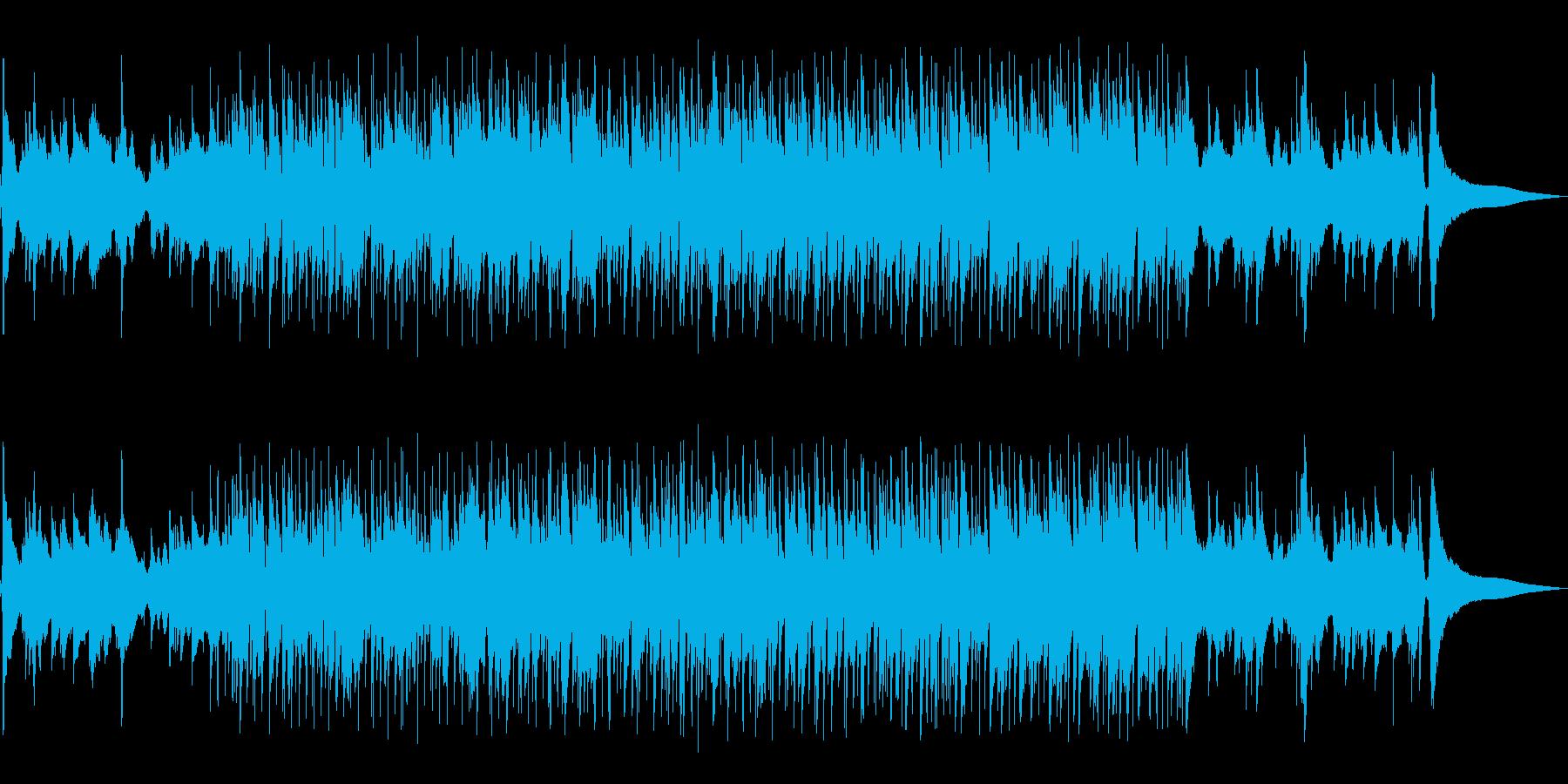 さわやかで、アップテンポなポップの再生済みの波形