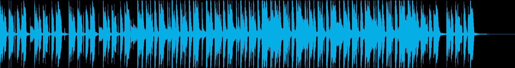 カッティング、都会的ファンクの再生済みの波形