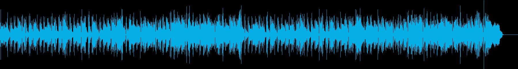saxでボサノバの再生済みの波形