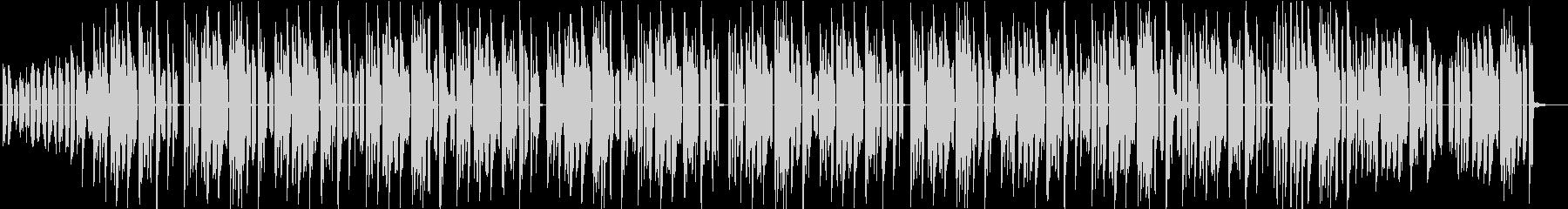 幻想的なチルホップの未再生の波形