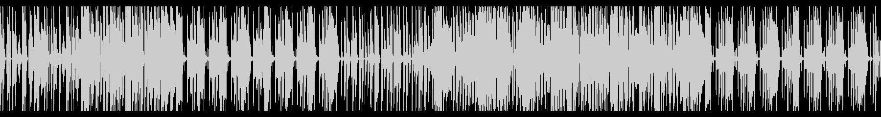 かわいい・ほのぼのエレクトロニカ ループの未再生の波形