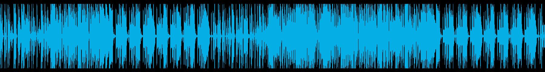 かわいい・ほのぼのエレクトロニカ ループの再生済みの波形