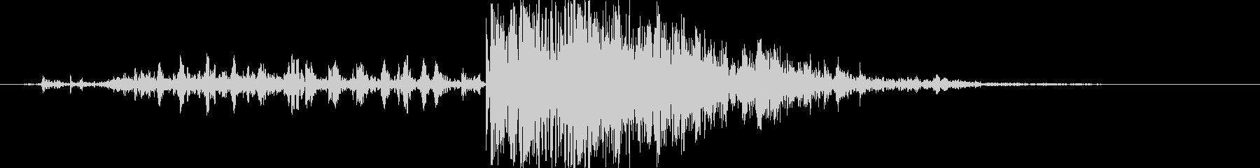 木 ミディアムクラッシュ01の未再生の波形