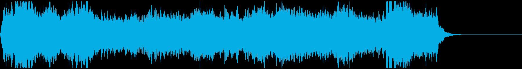 ストリングス/爽やかな四重奏の再生済みの波形