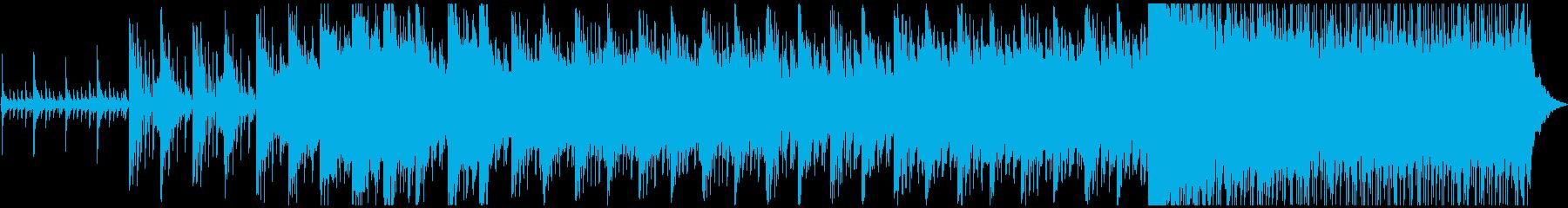 緊迫感あふれるBGMです。の再生済みの波形