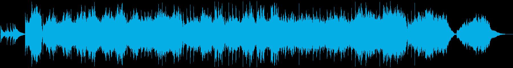 感動シーンに合うピアノ・ストリングスの再生済みの波形