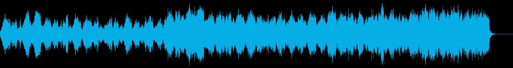 悲しい ストリングス 絶望の再生済みの波形