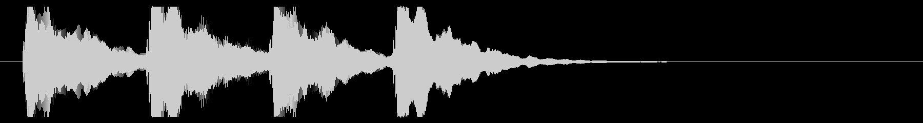 ゴージャスなピンポンパンポン、開始用の未再生の波形
