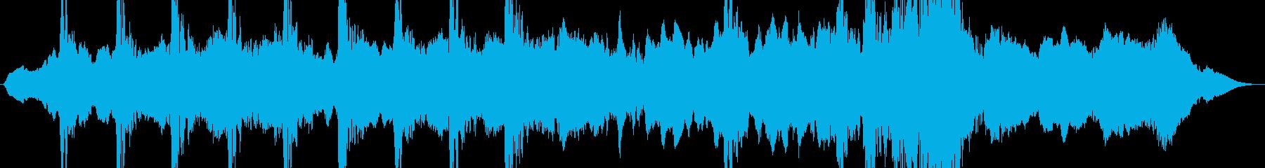 ストリングスで表現したミステリアスな迷宮の再生済みの波形