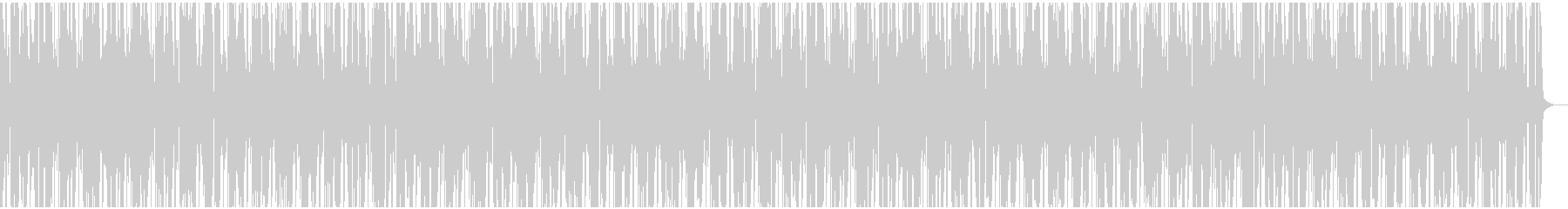 ブレイクビーツ多用のHiphop風の未再生の波形