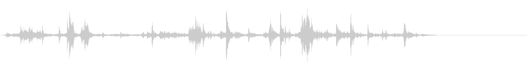 机や棚などをガサゴソ探す効果音 03の未再生の波形