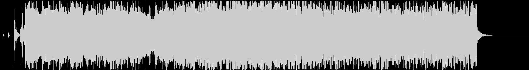 ハードロック/エレキギター/オープニングの未再生の波形