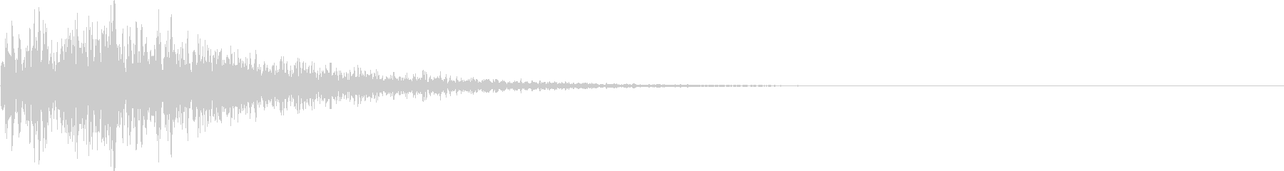 ブワブワ(ダメージ・闇属性魔法攻撃)の未再生の波形