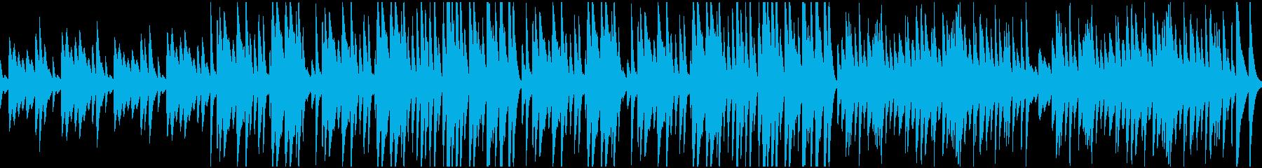 メリーゴーランド風のマリンバ【ループ可】の再生済みの波形