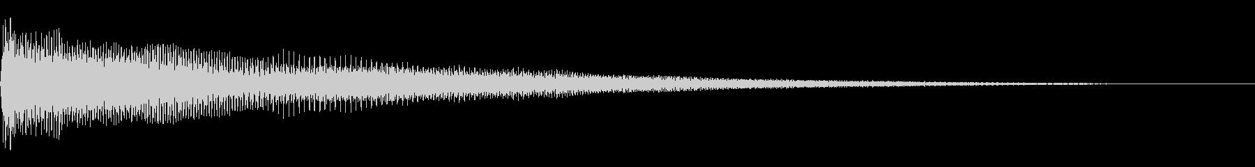 [生録音]グランドハープ-04-F1の未再生の波形