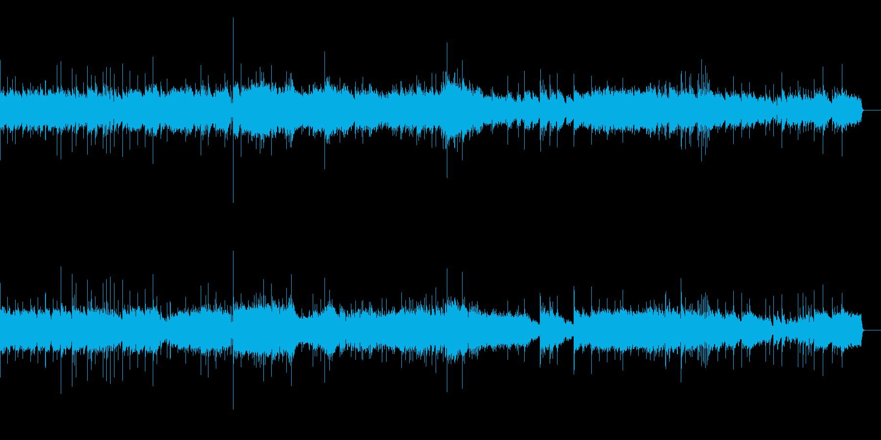 小組曲より第一楽章小舟にて (シンセ版)の再生済みの波形