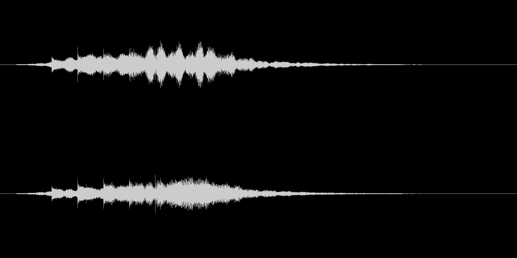 テレレレン(起動音・企業サウンドロゴ)の未再生の波形