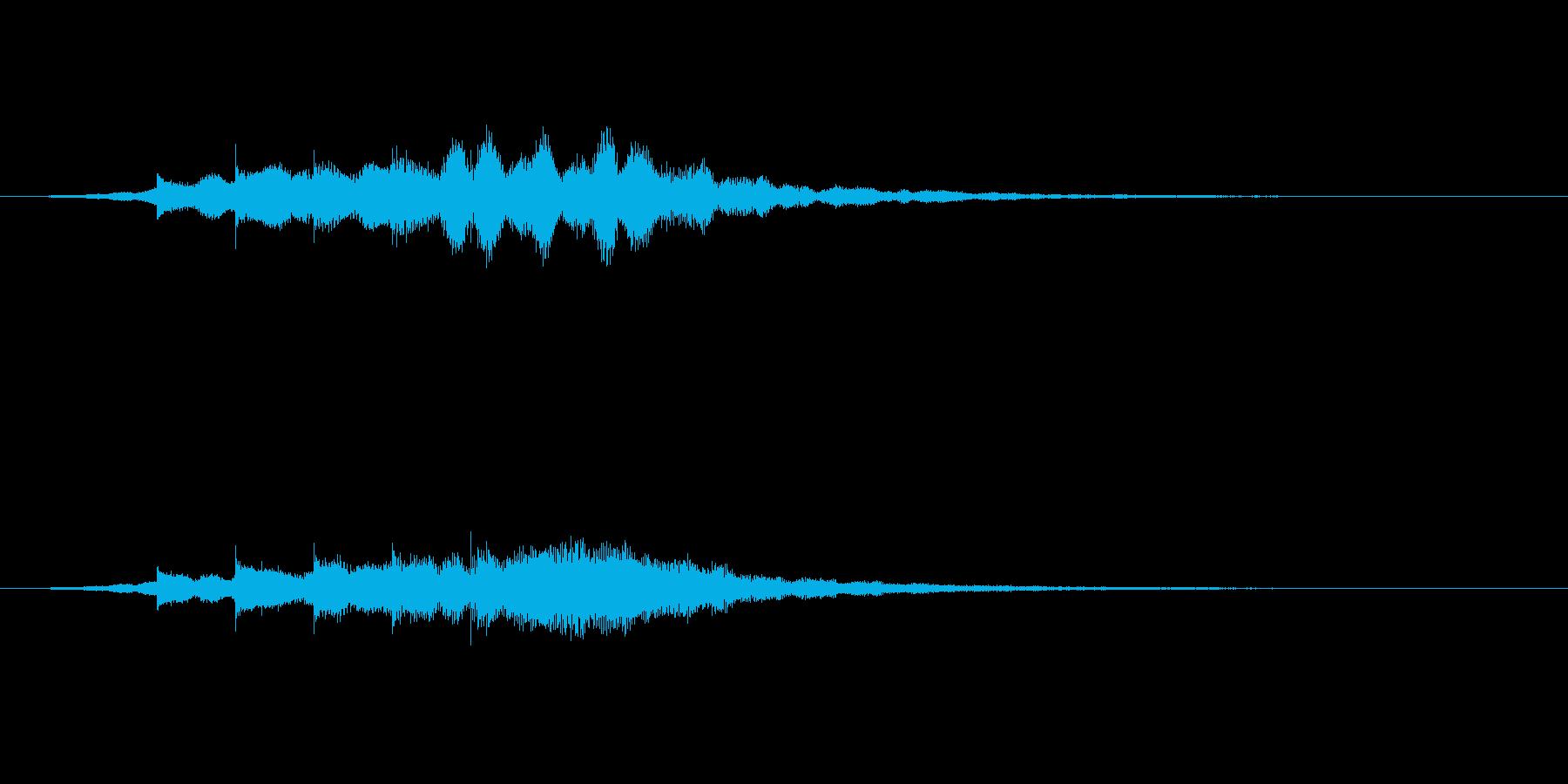 テレレレン(起動音・企業サウンドロゴ)の再生済みの波形