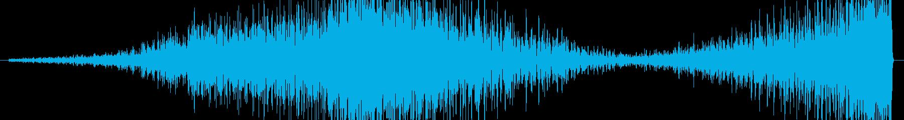 ヘビーウーッシュフェードインシフト...の再生済みの波形