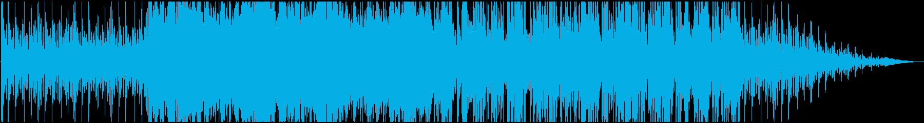 ゲーム【逆転裁判】風:尋問、不安2の再生済みの波形