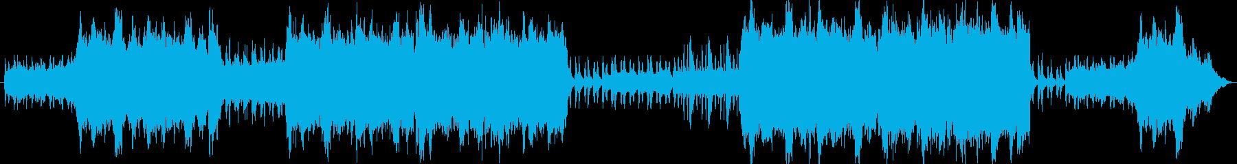 ファンタジーRPGのボス戦をイメージし…の再生済みの波形