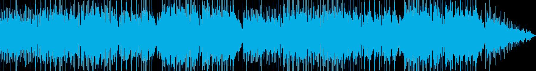 静かで温かみのあるソロギターサウンドの再生済みの波形