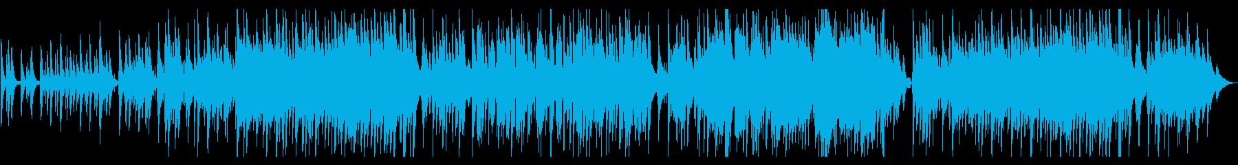 きよしこの夜ジャズトリオ編成 ピアノメイの再生済みの波形
