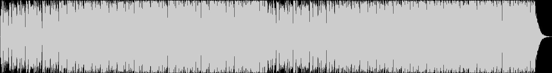 House musicの未再生の波形