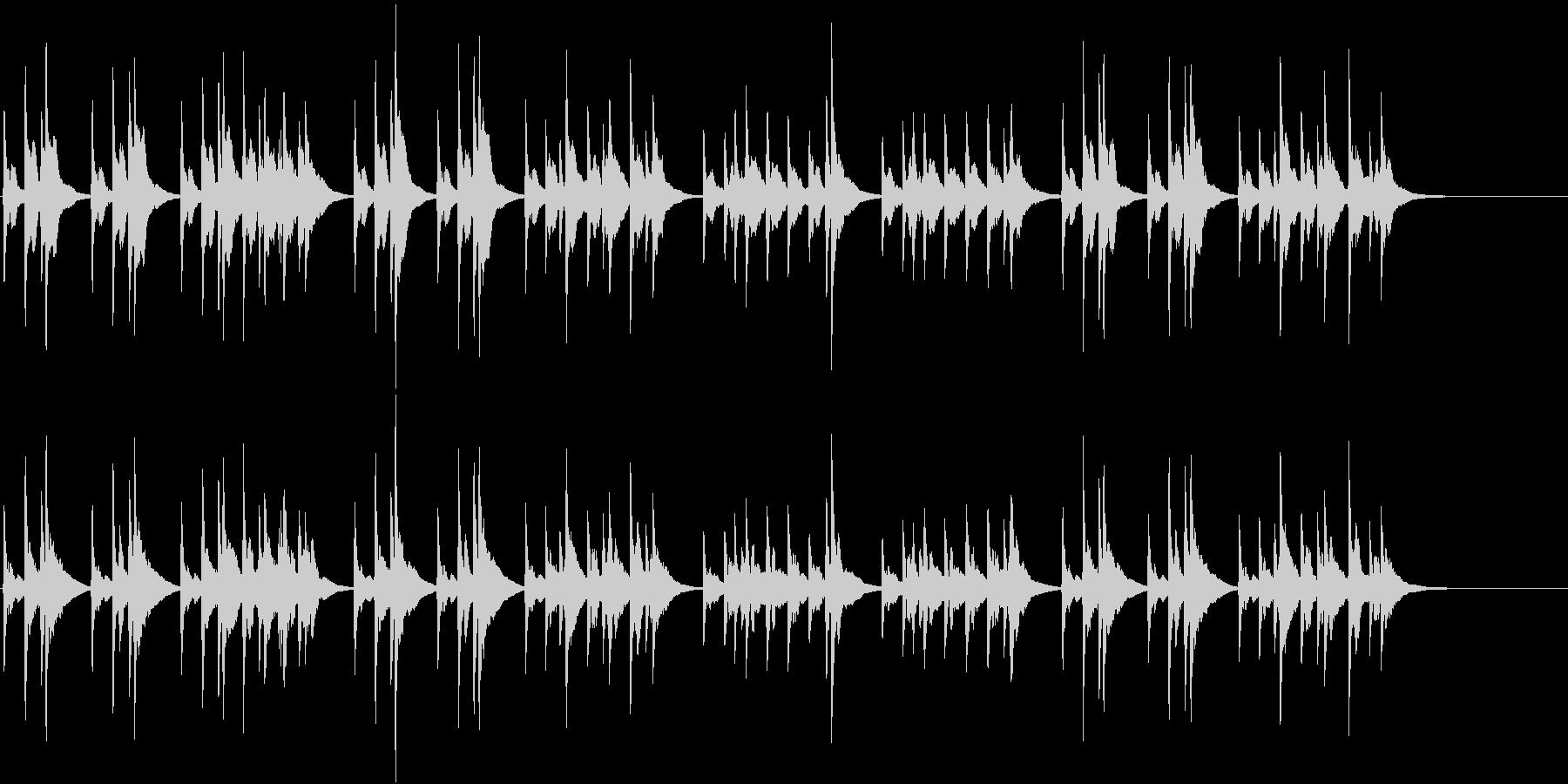 結婚行進曲 婚礼の合唱 オルゴールの未再生の波形