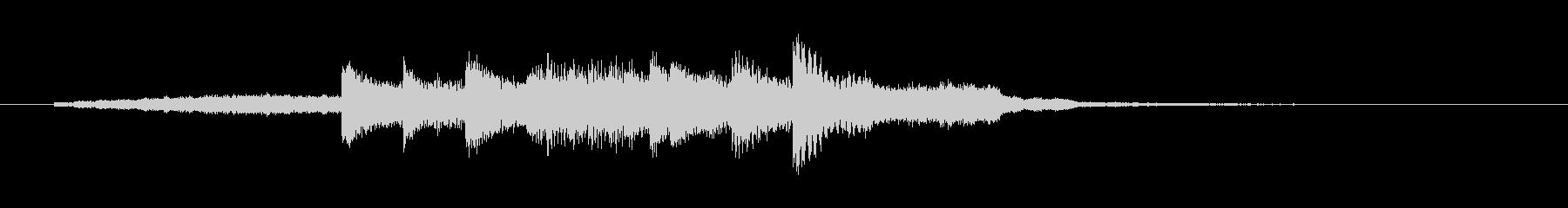 高音質ピアノ都会的BGMスタイリッシュの未再生の波形
