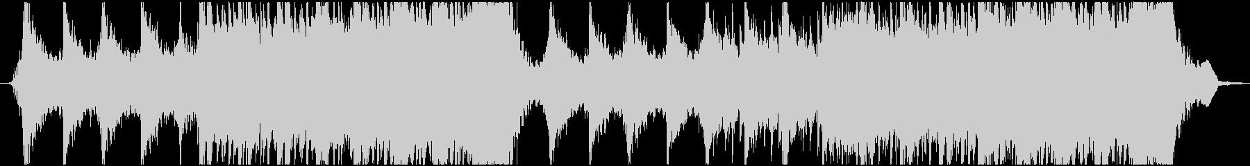 Action Musicの未再生の波形