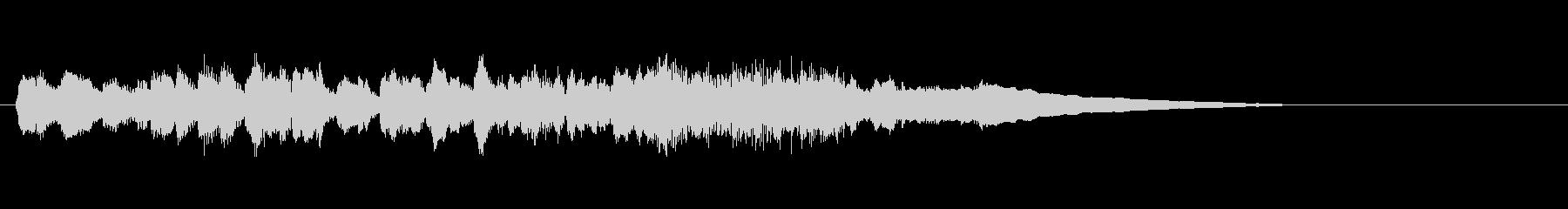 テーマ2:ピアノ、オーボエの未再生の波形