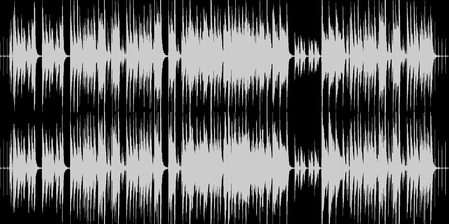 【ループ】ほのぼの日常なBGMの未再生の波形