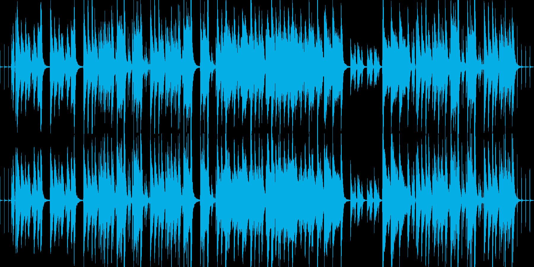 【ループ】ほのぼの日常なBGMの再生済みの波形