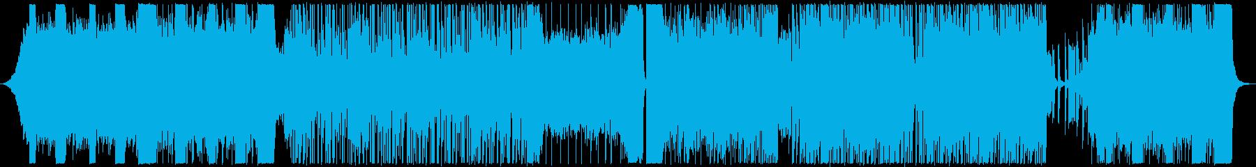 ヘッドライナーは非常にアクティブで...の再生済みの波形