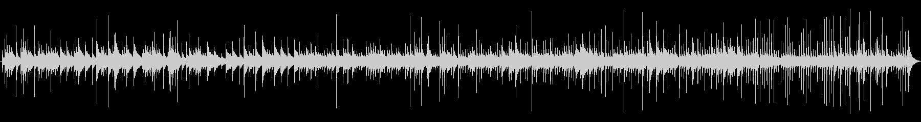 【明るいオルゴール】汎用性のあるループ曲の未再生の波形