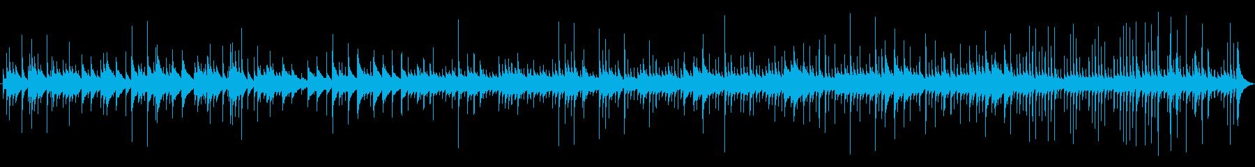 【明るいオルゴール】汎用性のあるループ曲の再生済みの波形