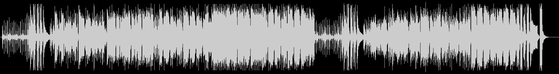 ほのぼのシンセサイザーピアノサウンドの未再生の波形