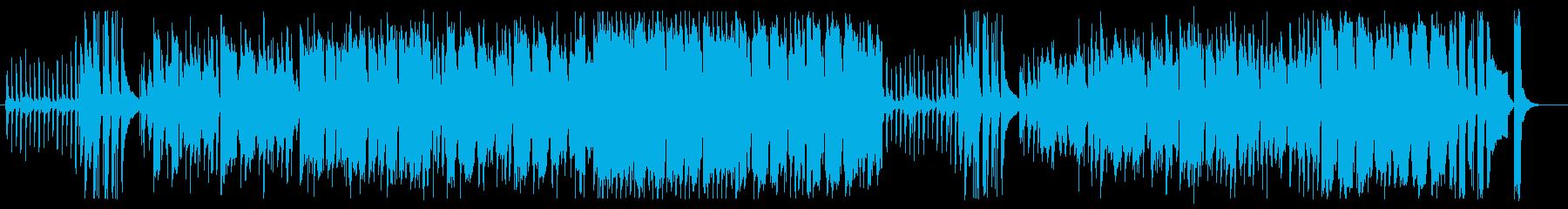ほのぼのシンセサイザーピアノサウンドの再生済みの波形
