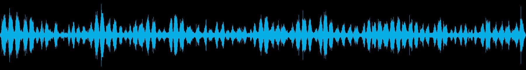 波の音 【大浜海岸、徳島、秋、昼】の再生済みの波形