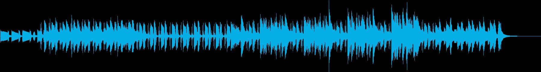 ピアノのリズムが軽快なポップスジャズの再生済みの波形