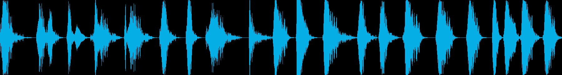 落雷と雷撃、電気放電スイーツ、さま...の再生済みの波形