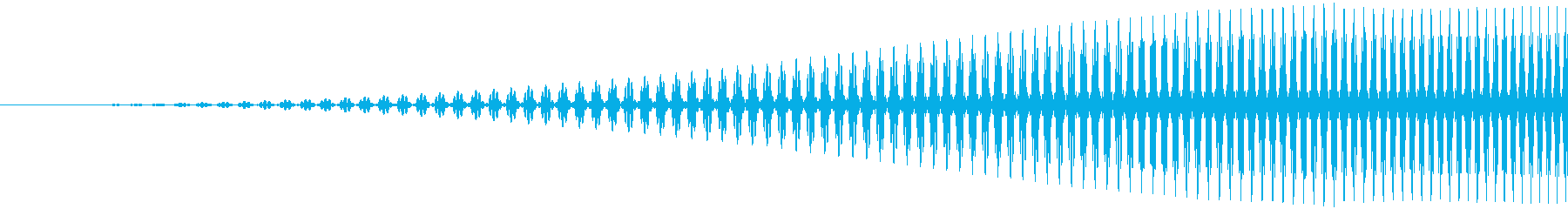ヒュイ(スワイプ、フリック系の音)の再生済みの波形