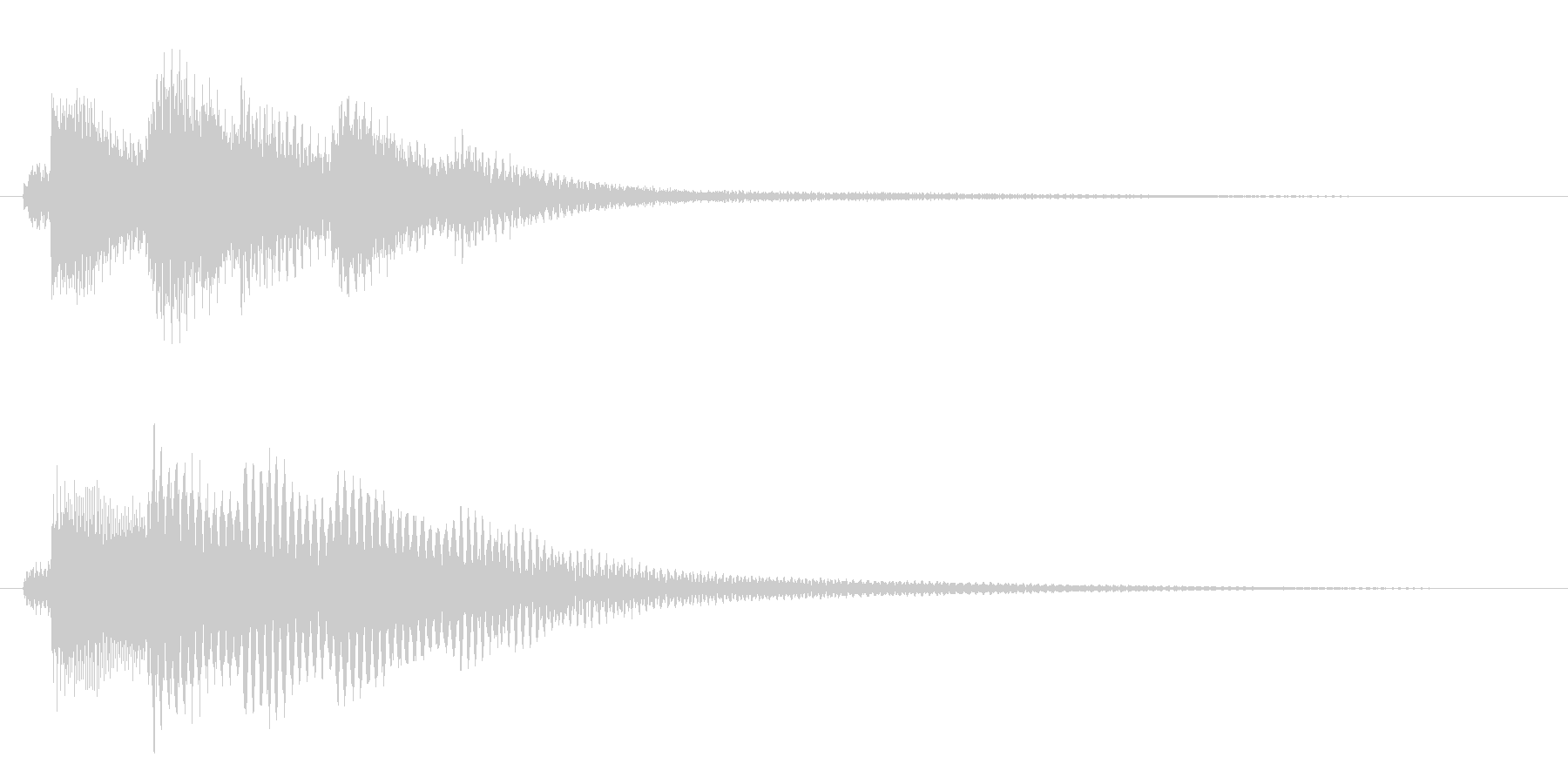 夜明けの音/場面転換/ピアノ【06】の未再生の波形