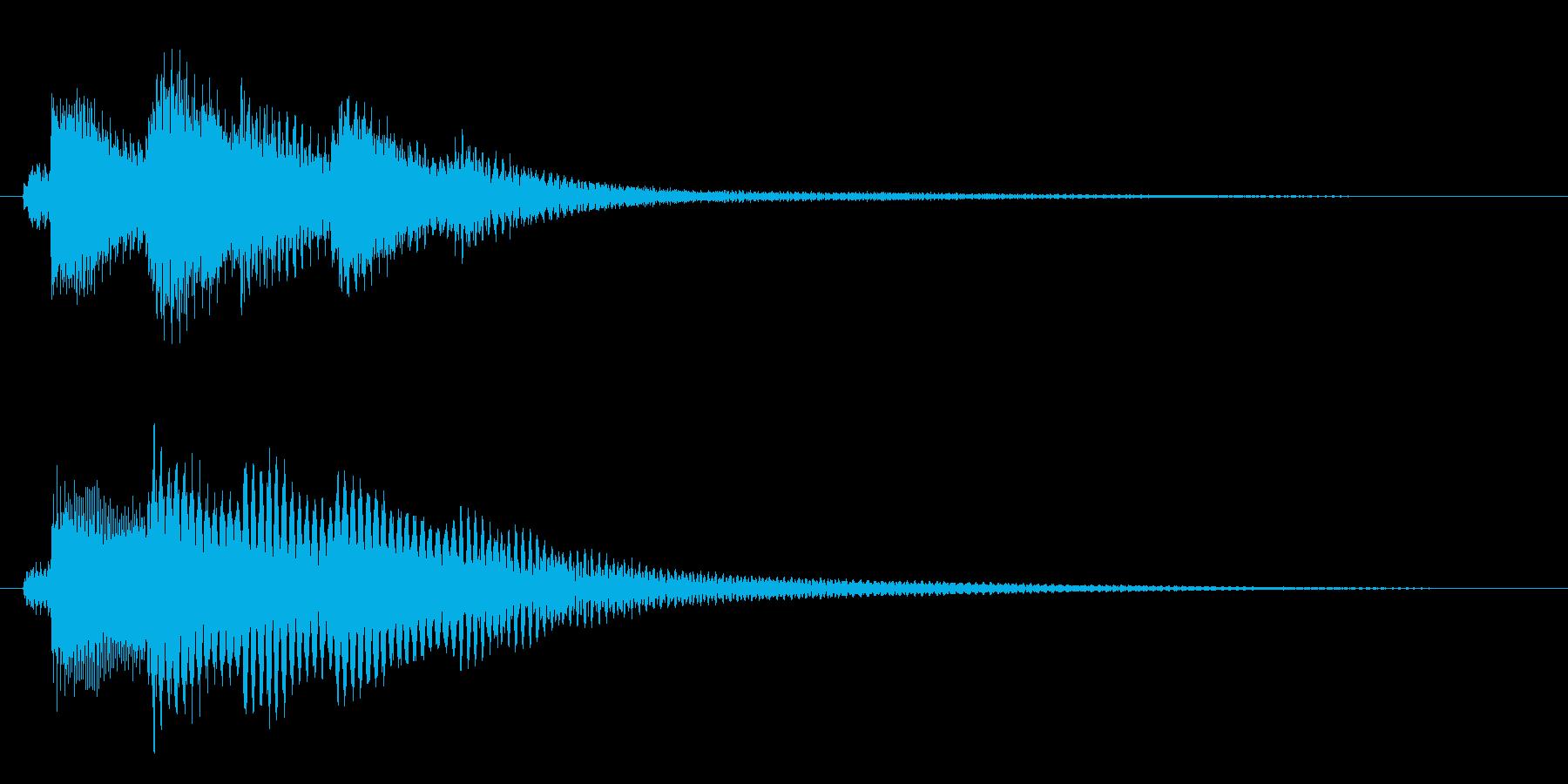 夜明けの音/場面転換/ピアノ【06】の再生済みの波形