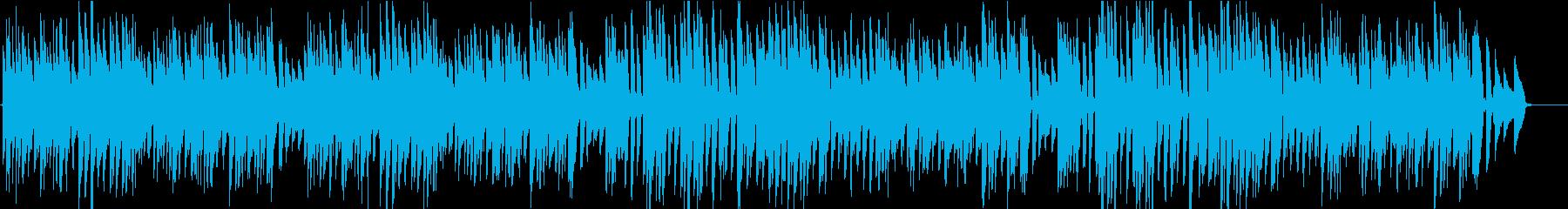バッハ/メヌエット2/へたっぴバイオリンの再生済みの波形