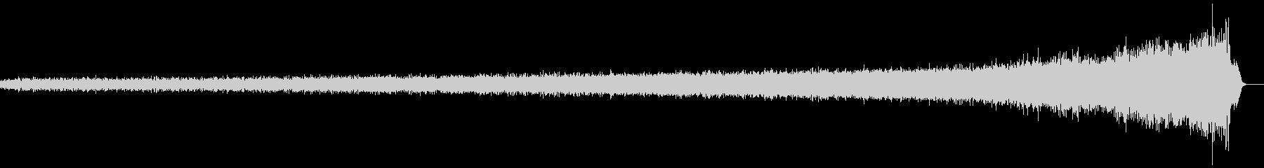 不安を煽るノイズAの未再生の波形