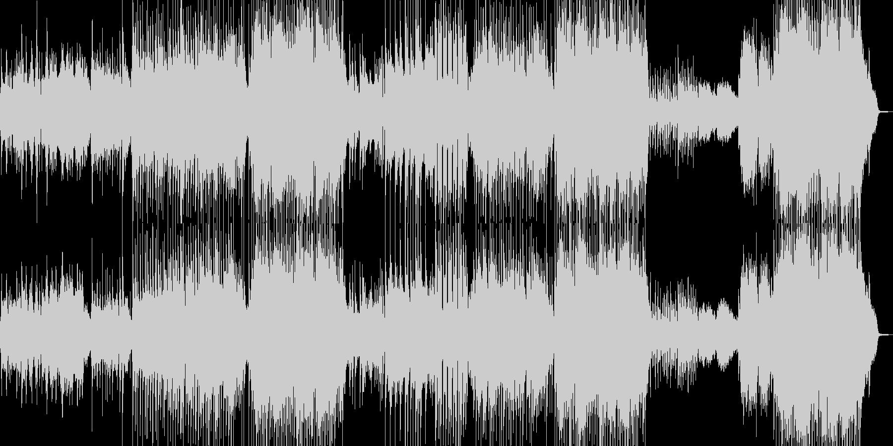 メインが劇的・90年代風バラード 長尺+の未再生の波形