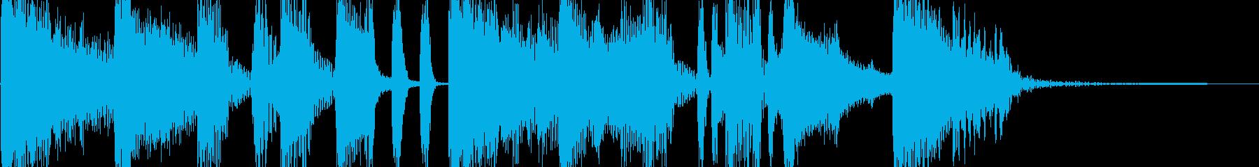 ストリートテイストの刺激的なジングルの再生済みの波形